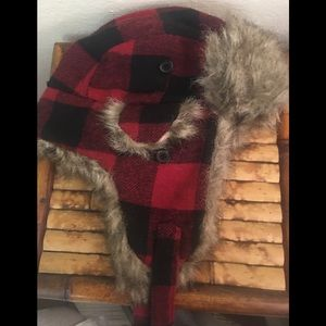 Biodomes Warm Winter Buffalo Plaid Hat
